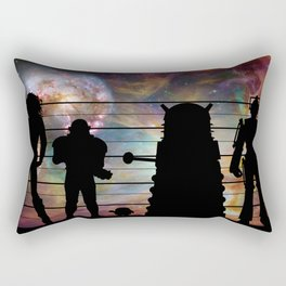 Doctor Who: The Whovian Suspects Rectangular Pillow