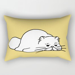 Monday Mood Rectangular Pillow