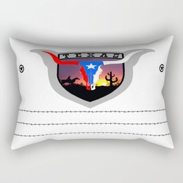 Old West State shield Rectangular Pillow