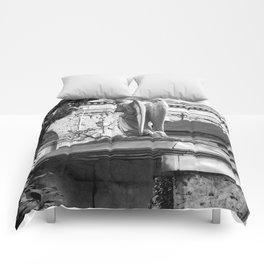 ancient angel on the memorial Comforters