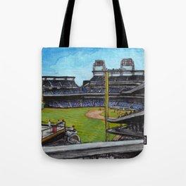 Baseball Park Tote Bag