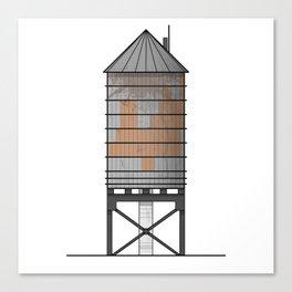 Watertower Canvas Print