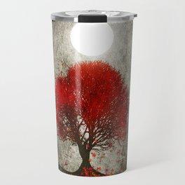 Red autumn. Travel Mug
