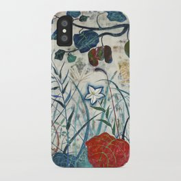 nature【Japanese painting】 iPhone Case