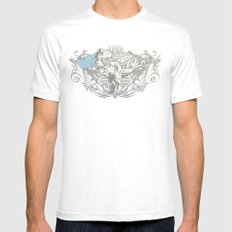 Fearless Creature: Rexy MEDIUM Mens Fitted Tee White