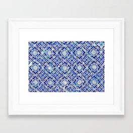 Azulejo Framed Art Print
