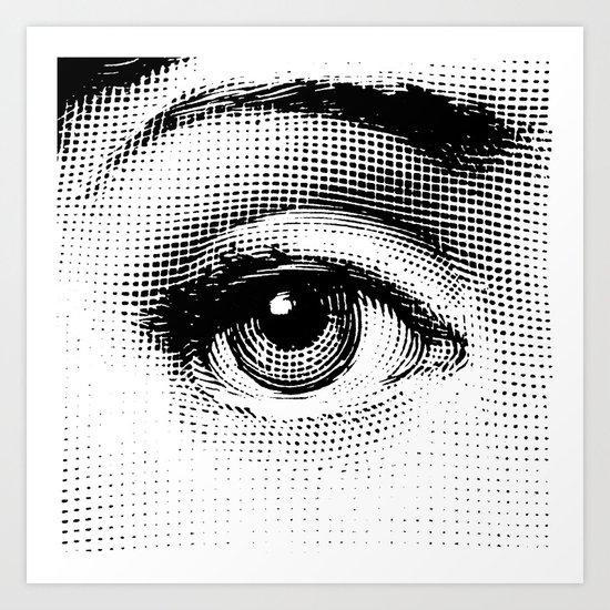 Lina Cavalieri - right eye by leartset