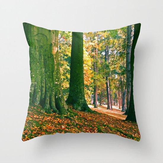 South Park trees Throw Pillow