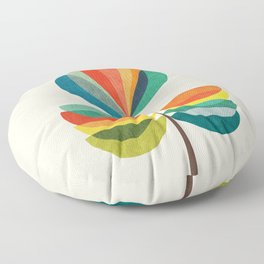 Whimsical Bloom Floor Pillow
