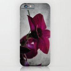Orchid on Charcoal Slim Case iPhone 6s