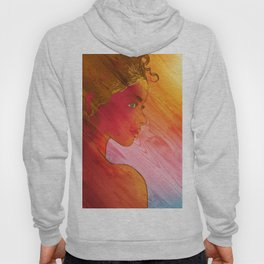 Independent Woman Sunset Hoody
