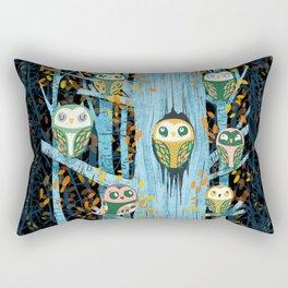 Overnight Owl Conference Rectangular Pillow
