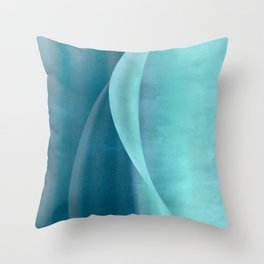 Wave n°4 Throw Pillow