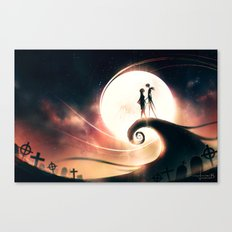 We're Simply Meant To Be Canvas Print