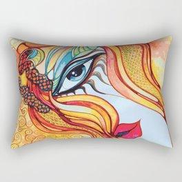 Facet off Rectangular Pillow