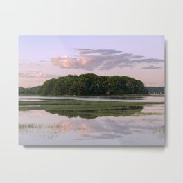Annisquam river reflections Metal Print