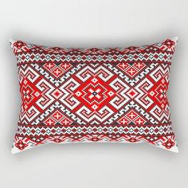 Cross stitch pattern Rectangular Pillow