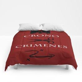 Time Crimes Comforters