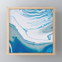 Blue Ocean Framed Mini Art Print
