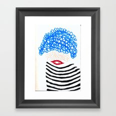 Intrigued  Framed Art Print