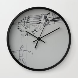 Mechanical Hand Wall Clock