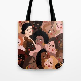 We are the sun, the moon and the stars Tote Bag