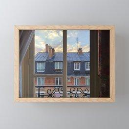 VIEWING PARIS Framed Mini Art Print