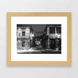 Rue des Artistes Framed Art Print