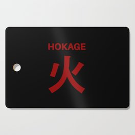 Anime Kanji Cutting Board