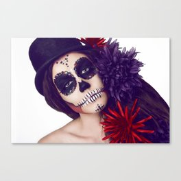 The clown you never wanted Canvas Print