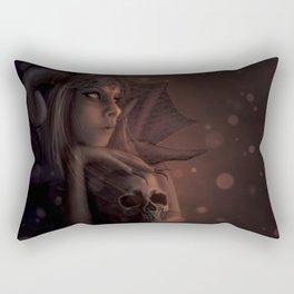 Tragically Adorned Rectangular Pillow