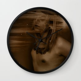 Chest of Lead, Skin Drawn Tight Wall Clock