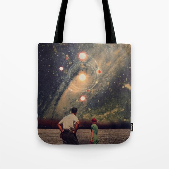 Light Explosions In Our Sky Tote Bag