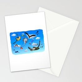Marine Skies Stationery Cards