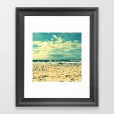 The Baltic Sea No. 3 (Square) Framed Art Print