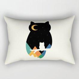 Eye On Owl Rectangular Pillow