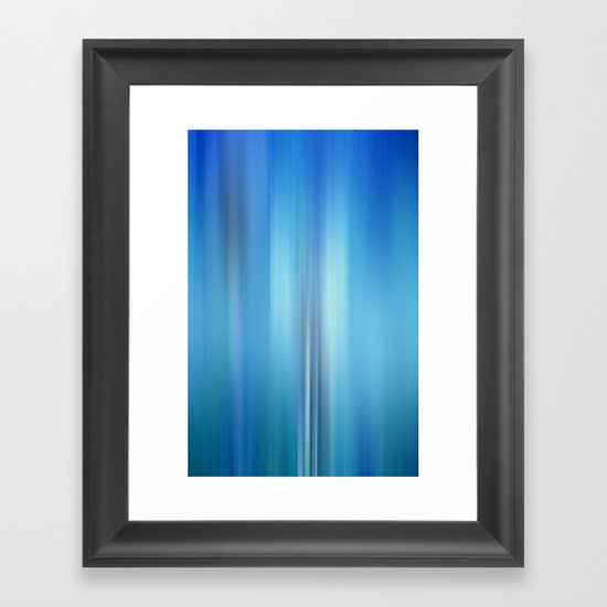 deep inside Framed Art Print