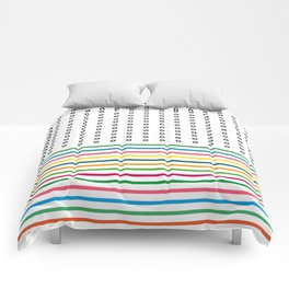 stripes & rings Comforters