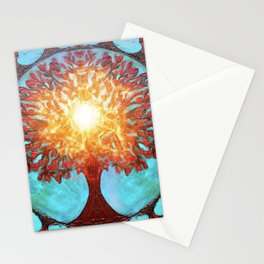 The Garden Of Brilliance Stationery Cards
