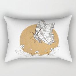 Butterfly & Primrose Rectangular Pillow