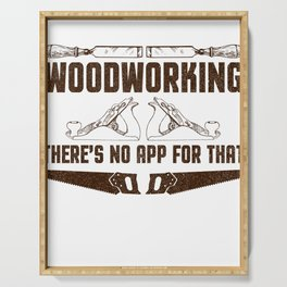 Woodworking There's No App For That Serving Tray