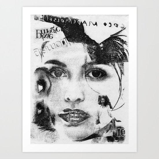 Cover Girl Art Print