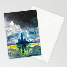 Majestic Midnight  Stationery Cards