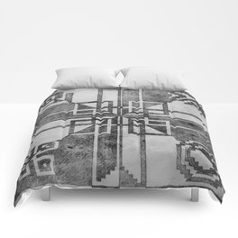 Box Patterns Comforters