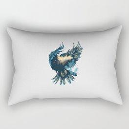 Forest Falcon Rectangular Pillow