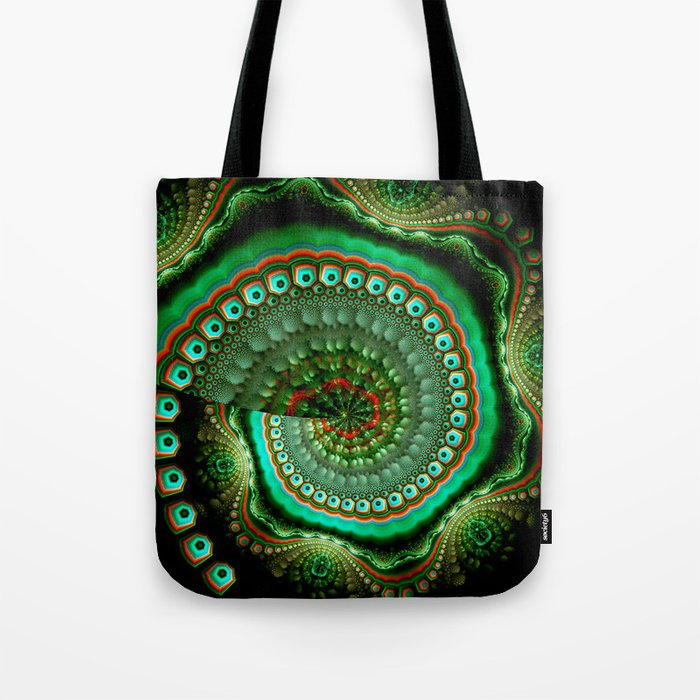 Pretty eyes, swirling pattern abstract Tote Bag
