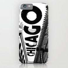 Cities in Black - Chicago iPhone 6s Slim Case