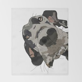 Great Dane Throw Blanket