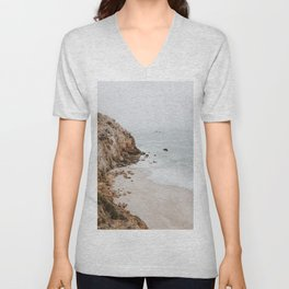 malibu coast / california Unisex V-Neck