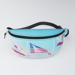 Flags Fanny Pack